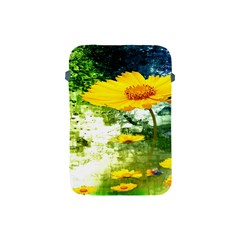 Yellow Flowers Apple Ipad Mini Protective Soft Cases by BangZart