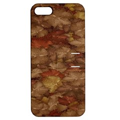 Brown Texture Apple Iphone 5 Hardshell Case With Stand by BangZart
