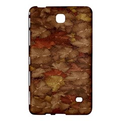 Brown Texture Samsung Galaxy Tab 4 (7 ) Hardshell Case  by BangZart