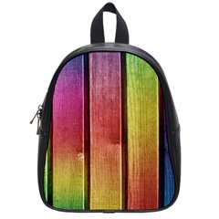 Colourful Wood Painting School Bags (small)