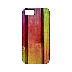 Colourful Wood Painting Apple Iphone 5 Classic Hardshell Case (pc+silicone) by BangZart