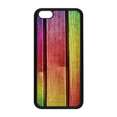 Colourful Wood Painting Apple Iphone 5c Seamless Case (black) by BangZart