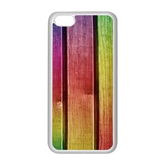 Colourful Wood Painting Apple Iphone 5c Seamless Case (white)