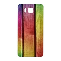 Colourful Wood Painting Samsung Galaxy Alpha Hardshell Back Case by BangZart