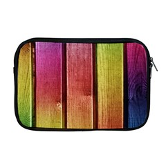 Colourful Wood Painting Apple Macbook Pro 17  Zipper Case by BangZart