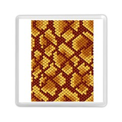 Snake Skin Pattern Vector Memory Card Reader (square)  by BangZart
