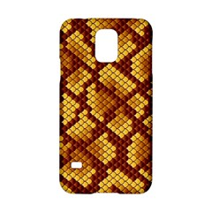 Snake Skin Pattern Vector Samsung Galaxy S5 Hardshell Case  by BangZart