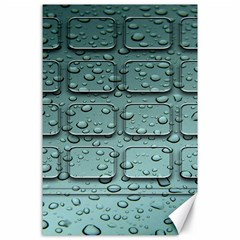 Water Drop Canvas 24  X 36  by BangZart
