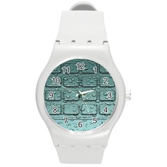 Water Drop Round Plastic Sport Watch (m) by BangZart