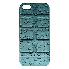 Water Drop Iphone 5s/ Se Premium Hardshell Case by BangZart
