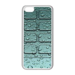Water Drop Apple Iphone 5c Seamless Case (white) by BangZart