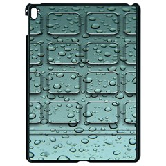 Water Drop Apple Ipad Pro 9 7   Black Seamless Case