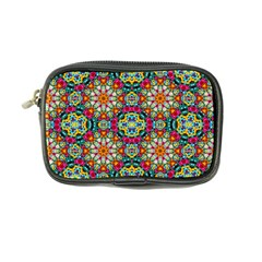 Jewel Tiles Kaleidoscope Coin Purse by WolfepawFractals