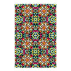 Jewel Tiles Kaleidoscope Shower Curtain 48  X 72  (small)  by WolfepawFractals