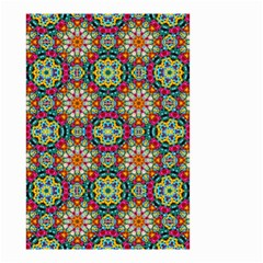 Jewel Tiles Kaleidoscope Small Garden Flag (two Sides) by WolfepawFractals