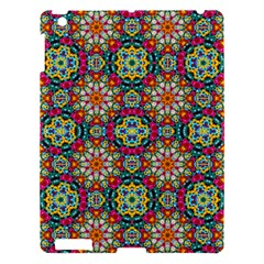 Jewel Tiles Kaleidoscope Apple Ipad 3/4 Hardshell Case by WolfepawFractals