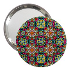 Jewel Tiles Kaleidoscope 3  Handbag Mirrors by WolfepawFractals