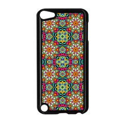 Jewel Tiles Kaleidoscope Apple Ipod Touch 5 Case (black) by WolfepawFractals