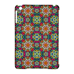 Jewel Tiles Kaleidoscope Apple Ipad Mini Hardshell Case (compatible With Smart Cover) by WolfepawFractals