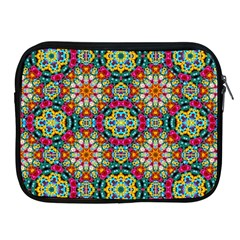 Jewel Tiles Kaleidoscope Apple Ipad 2/3/4 Zipper Cases by WolfepawFractals