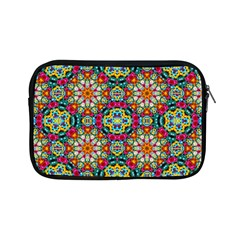 Jewel Tiles Kaleidoscope Apple Ipad Mini Zipper Cases by WolfepawFractals