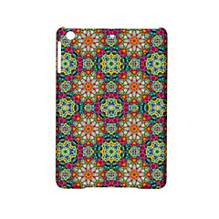 Jewel Tiles Kaleidoscope Ipad Mini 2 Hardshell Cases by WolfepawFractals