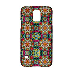 Jewel Tiles Kaleidoscope Samsung Galaxy S5 Hardshell Case  by WolfepawFractals