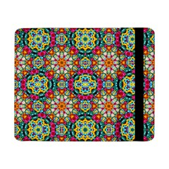 Jewel Tiles Kaleidoscope Samsung Galaxy Tab Pro 8 4  Flip Case by WolfepawFractals