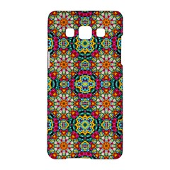 Jewel Tiles Kaleidoscope Samsung Galaxy A5 Hardshell Case  by WolfepawFractals