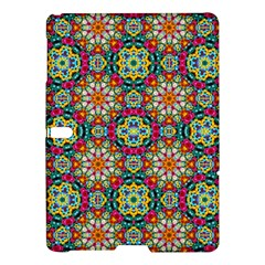 Jewel Tiles Kaleidoscope Samsung Galaxy Tab S (10 5 ) Hardshell Case  by WolfepawFractals