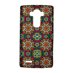 Jewel Tiles Kaleidoscope Lg G4 Hardshell Case by WolfepawFractals