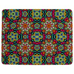 Jewel Tiles Kaleidoscope Jigsaw Puzzle Photo Stand (rectangular) by WolfepawFractals