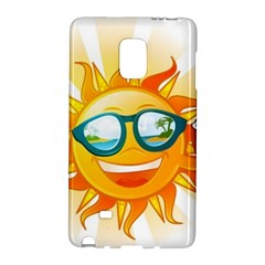 Cartoon Sun Galaxy Note Edge by LimeGreenFlamingo