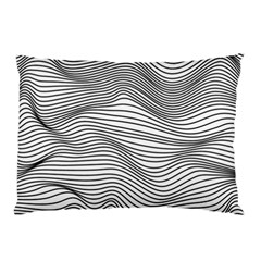 Lines N  Lines Pillow Case by LimeGreenFlamingo