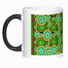 Flowers In Mind In Happy Soft Summer Time Morph Mugs by pepitasart