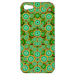 Flowers In Mind In Happy Soft Summer Time Apple Iphone 5 Hardshell Case by pepitasart
