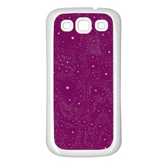 Awesome Allover Stars 01e Samsung Galaxy S3 Back Case (white) by MoreColorsinLife