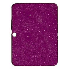 Awesome Allover Stars 01e Samsung Galaxy Tab 3 (10 1 ) P5200 Hardshell Case  by MoreColorsinLife