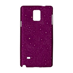 Awesome Allover Stars 01e Samsung Galaxy Note 4 Hardshell Case by MoreColorsinLife