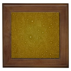 Awesome Allover Stars 01c Framed Tiles by MoreColorsinLife