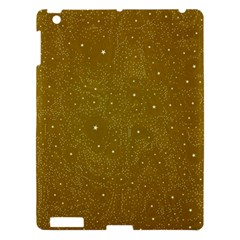 Awesome Allover Stars 01c Apple Ipad 3/4 Hardshell Case by MoreColorsinLife