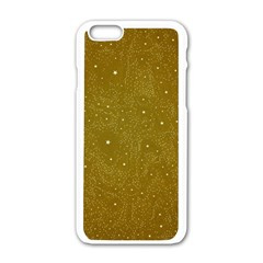Awesome Allover Stars 01c Apple Iphone 6/6s White Enamel Case by MoreColorsinLife