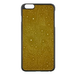 Awesome Allover Stars 01c Apple Iphone 6 Plus/6s Plus Black Enamel Case by MoreColorsinLife