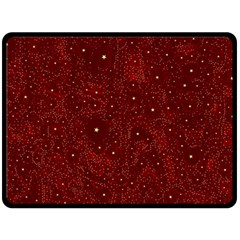 Awesome Allover Stars 01a Fleece Blanket (large)  by MoreColorsinLife