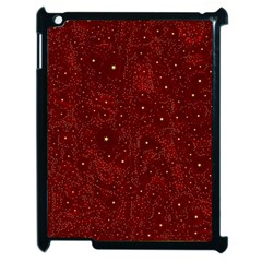 Awesome Allover Stars 01a Apple Ipad 2 Case (black) by MoreColorsinLife