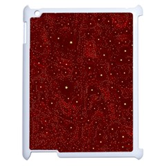 Awesome Allover Stars 01a Apple Ipad 2 Case (white) by MoreColorsinLife