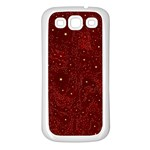 Awesome Allover Stars 01a Samsung Galaxy S3 Back Case (White) Front