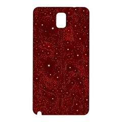 Awesome Allover Stars 01a Samsung Galaxy Note 3 N9005 Hardshell Back Case by MoreColorsinLife