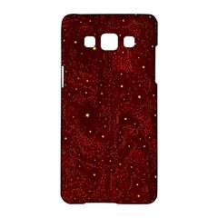 Awesome Allover Stars 01a Samsung Galaxy A5 Hardshell Case  by MoreColorsinLife