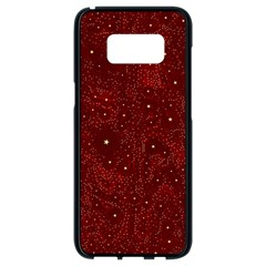 Awesome Allover Stars 01a Samsung Galaxy S8 Black Seamless Case